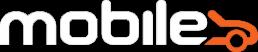 Mobile logo hvit